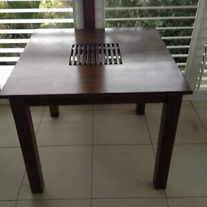 Madang 4 seater dining table Cashmere Pine Rivers Area Preview
