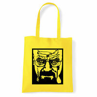 Art T-shirt, Borsa Heisenberg, Giallo Shopper, Mare Giallo-  - ebay.it