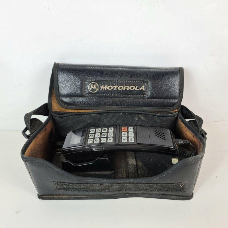 Vintage Motorola Cellular Bag Phone Mobile Car.