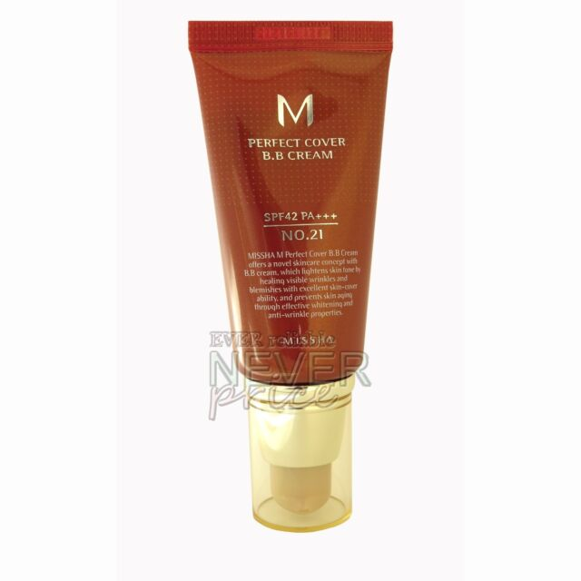 [US Seller] MISSHA M Perfect Cover BB Cream #21 50ml , 2-5 days delivery