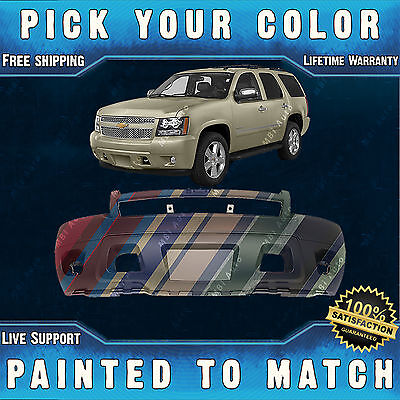 New Painted To Match - Front Bumper for 2007-2014 Chevy Suburban Tahoe Avalanche