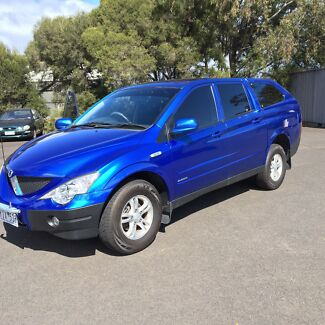 Ssangyong Actyon Sports 2.0 turbo diesel dual cab Belmont Geelong City Preview