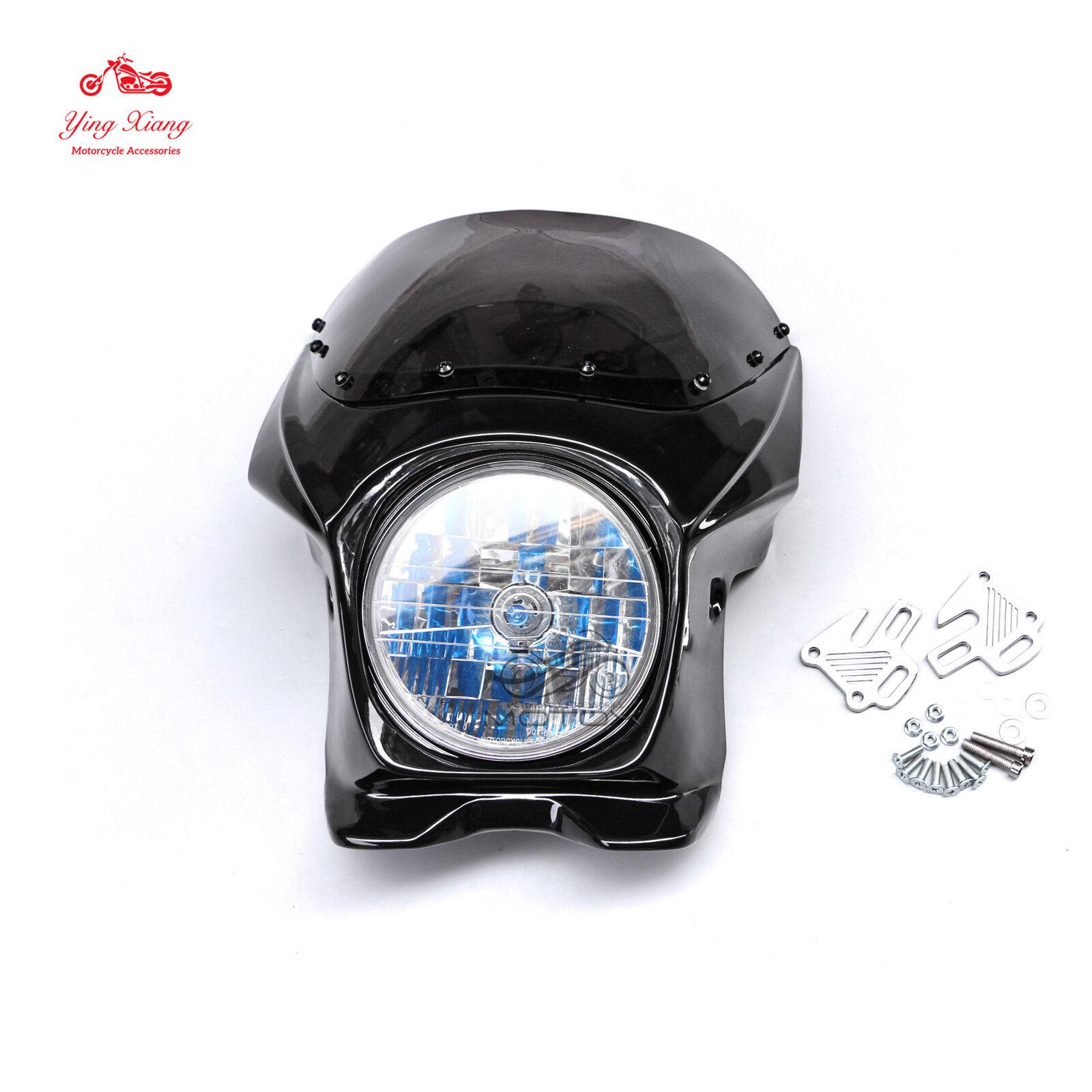 Front Upper Cowl Nose Fairing Headlight Fit For CB400/1300 GSXR400 ZRX400 XJR400