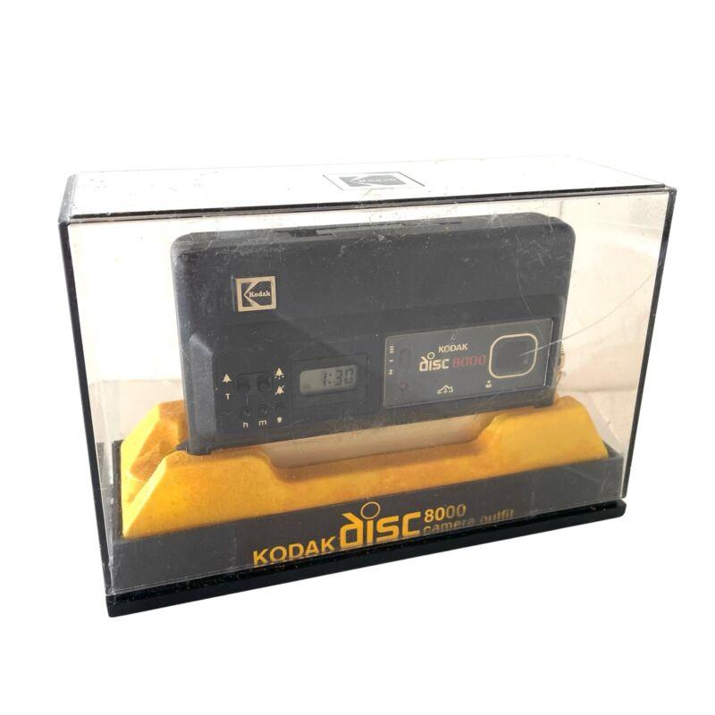 Vintage Kodak Disc 8000 Camera (Original Case And New Disc Films)