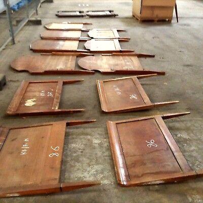 H6 Antique Bed Pieces Biedermeier Möbelrestaurierung Empire Restorer Shopfitting