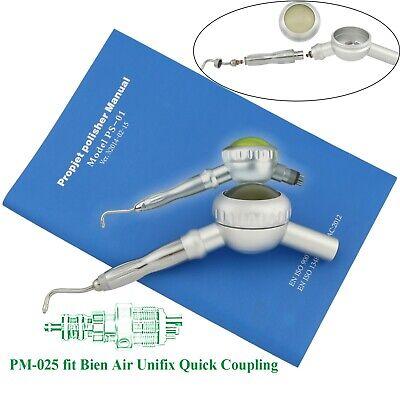 Dental Hygiene Air Prophy Mate Unit Handpiece Powder Teeth Cleaning Fit Bien Air