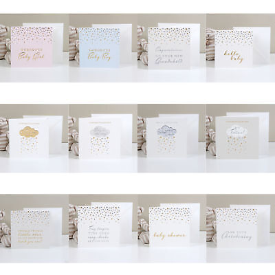 Bambino Deluxe New Baby / Christening Gift Card with Envelop