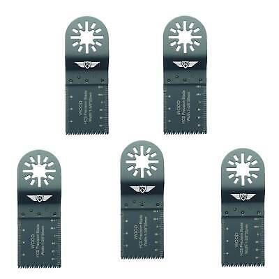 5 X Coarse Cut Blades For Fein Multimaster Bosch Ryobi Aeg Multitool Multi Tool