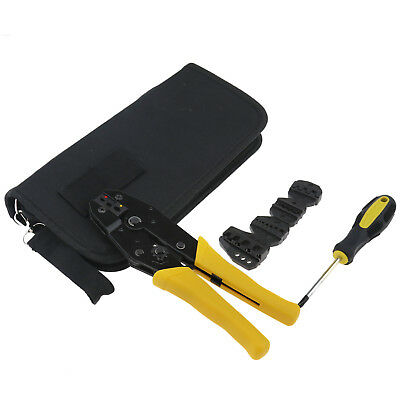 Ratcheting Terminal Crimper Tool Set -wire Ferrules Crimping For 0.5 -35mm