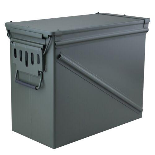 High Desert 30 MM Steel Ammo Storage Box OD Green Rust resistant Powder Coat