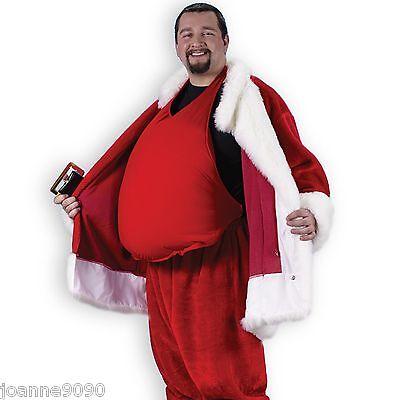 gepolstert Kostüm Fett Beer Bauch Füller Weihnachtsmann Anzug Zubehör