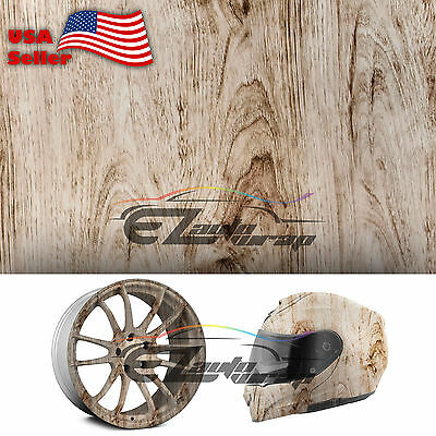19x38 Hydrographic Film Hydro Dipping Dip Water Transfer Wood Grain Print 04