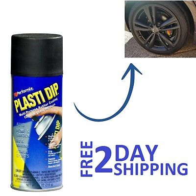 Plastic Dip Rubber Coating Spray Paint Matt Black Color Diy Car Wheels Rims (Car Paint Cans)