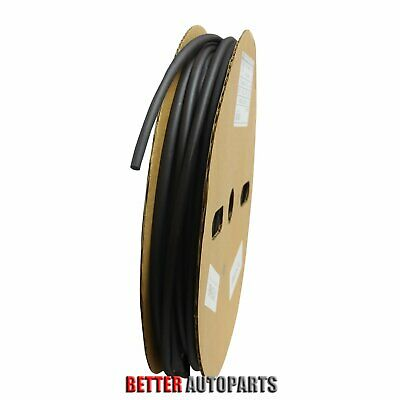 100 Ft. 100 Feet Black 14 6mm Polyolefin 21 Heat Shrink Tubing Tube Cable Ul