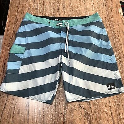 Quiksilver Surf Board Shorts Mens Size 36 #53456