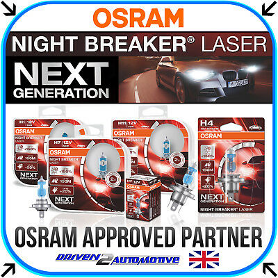 Car Parts - OSRAM NIGHT BREAKER LASER (NEXT GENERATION) +150% H1 H3 H4 H7 H8 H11 HB3 HB4