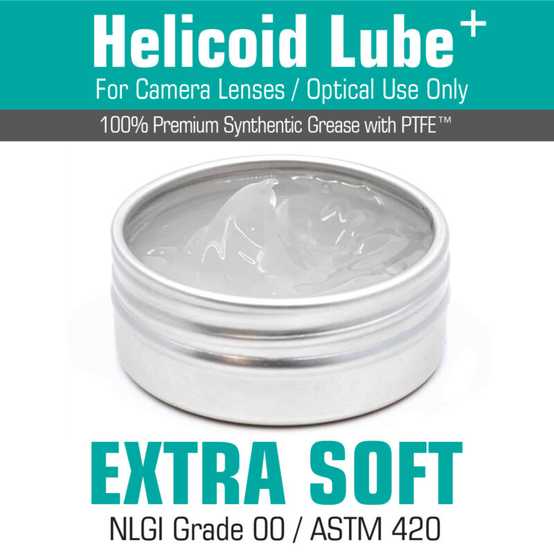 Helicoid Grease -EXTRA SOFT- 15ml for Camera Lens Servicing MADE IN UK