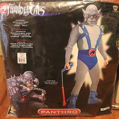Thundercats Panthro Mens Costume Halloween Party New Years Eve Rubies New - Eve Costume Halloween