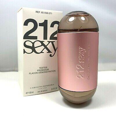 212 SEXY By Carolina Herrera Eau De Parfum For Women 100ml/3.4oz. New In Tst Box
