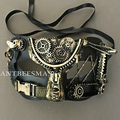 Steampunk Maximal Design Deco Halloween Night Party Eye Mask