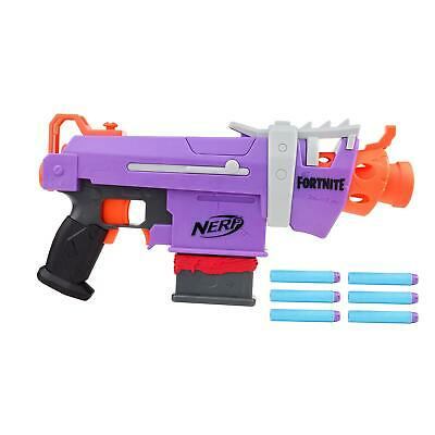 Nerf Fortnite SMG-E Motorized Dart Blaster 6-Dart Clip Nerf Elite Darts