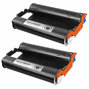 2 PC301 Cartridge with PC302RF Roll for Brother 885MC Fax Intellifax 775 Printer