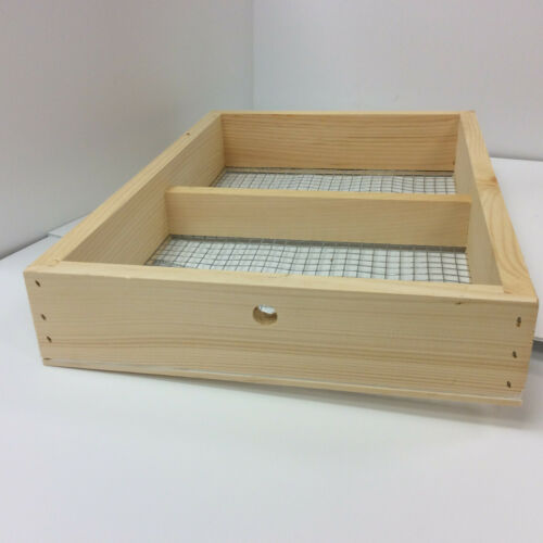 Candy Board Frame for 8 Frame Pine Langstroth Beehive