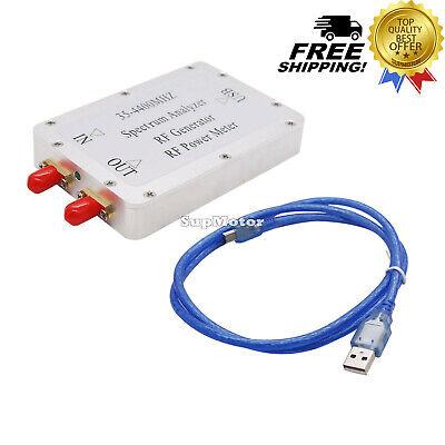 35-4400mhz Usb Simple Spectrum Analyzer Signal Generator Tracking Source Rf