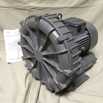 Fuji Electric Vfz701a-7w 6.7 Hp Regenerative Blower 3 Ph 230460v 2 Inlet