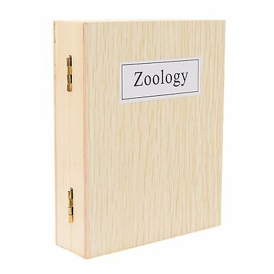 25 Stück Dauerpräparate Zoologie Set Objektträger für Mikroskope, TSMDPZ