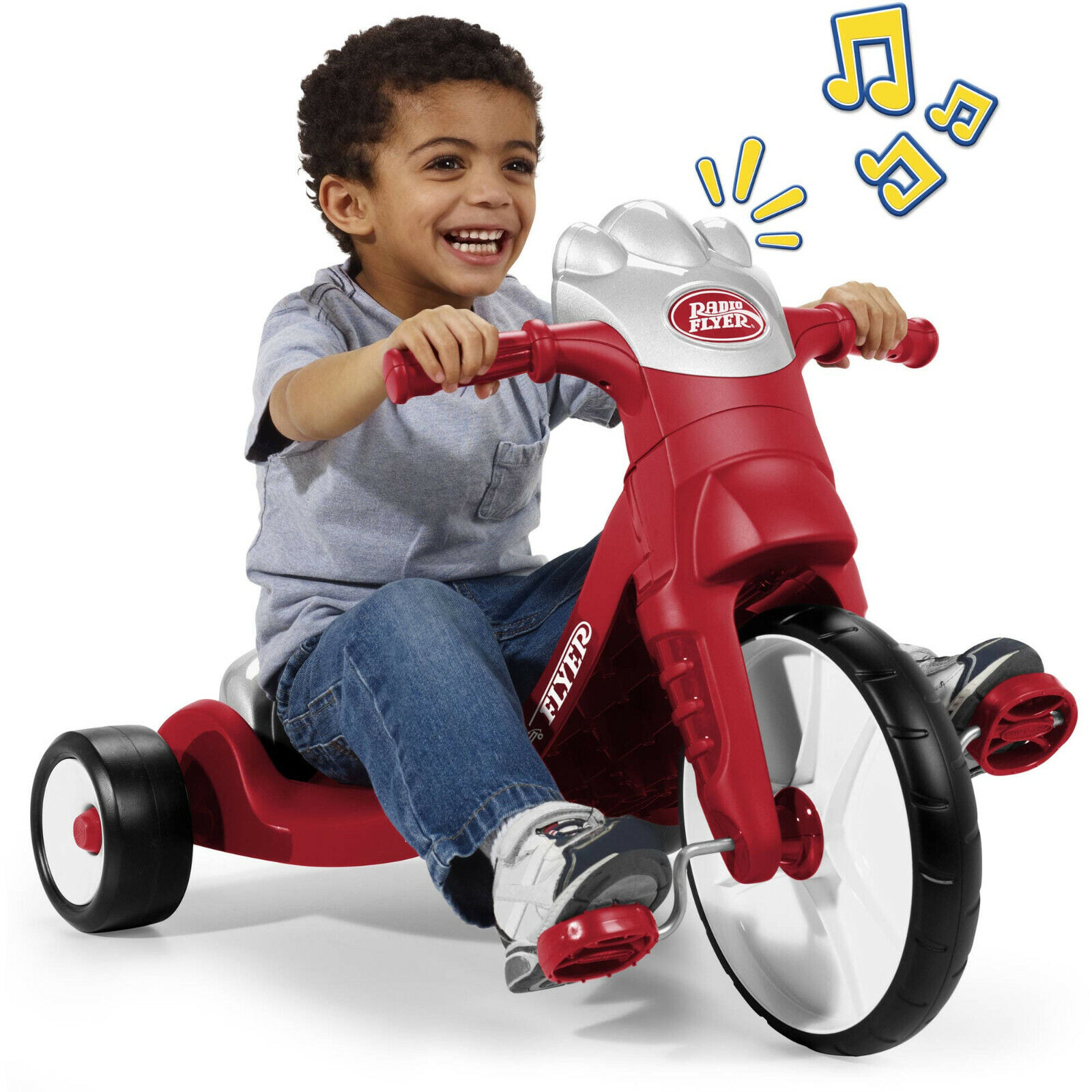 Radio Flyer, My First Big Flyer with Lights & Sounds, Tricyc