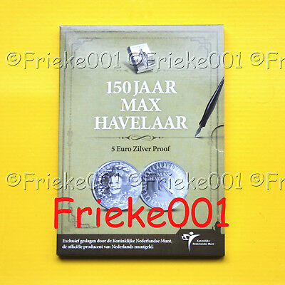 Nederland - Pays-Bas - 5 euro 2010 proof.(Max Havelaar)