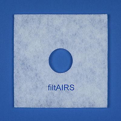 5 Filter Ersatzfilter für Helios ELF/ELSN 00939 ELS Ventilator Staubfilter