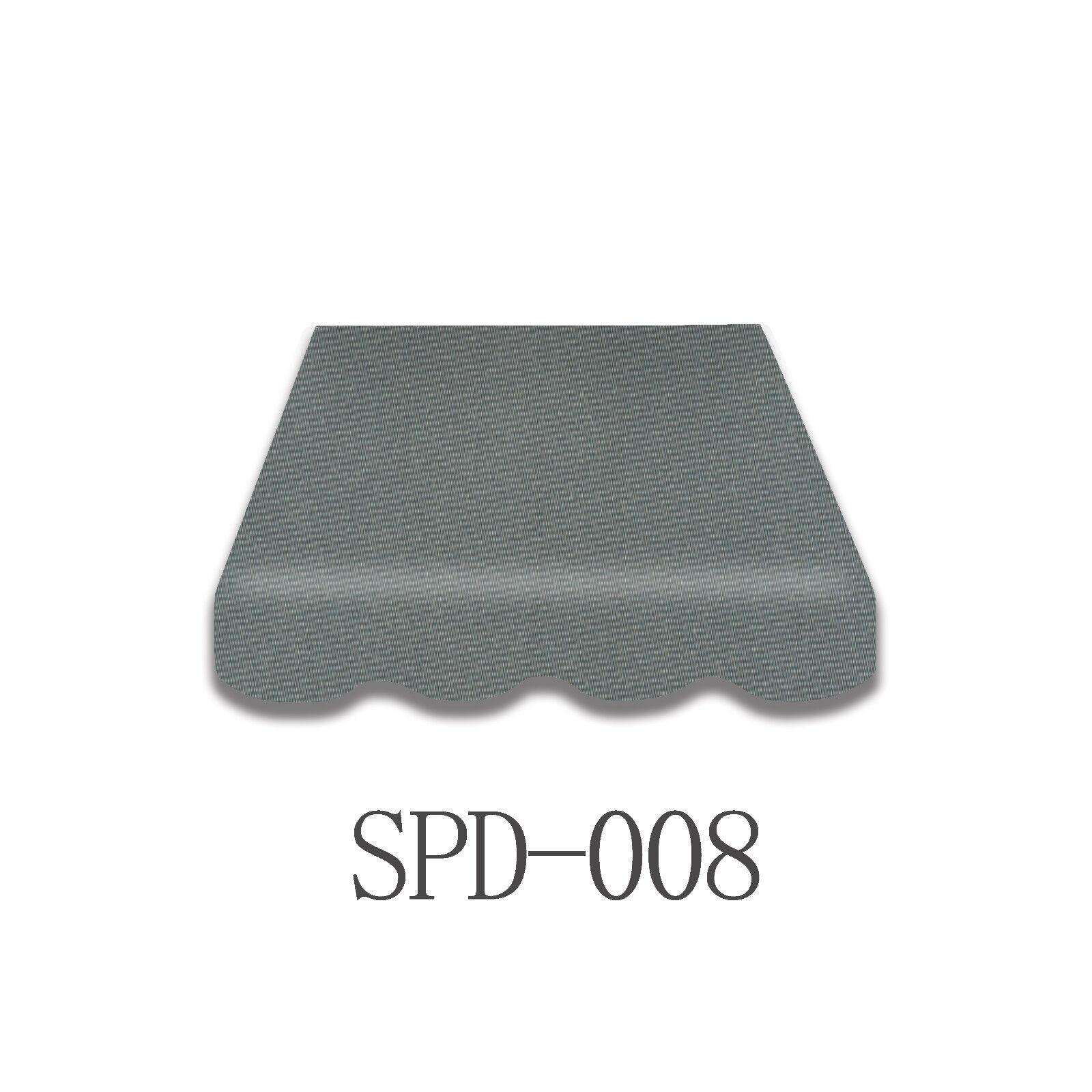 Markisenstoff  Markisenbespannung mit  Volant 3 x 2,5 m Fertig genäht SPD 037