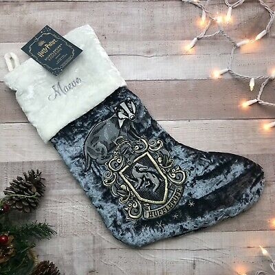 "NWT Pottery Barn Harry Potter Hufflepuff Stocking ""Maeve"""