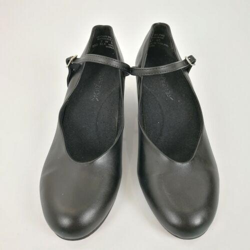 Capezio Character Dance Shoes Black 7W Cassie Jr