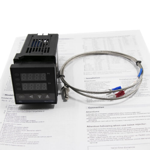 AC 110 PID Digital Temperature Control Controller Thermocouple 0 to 400℃