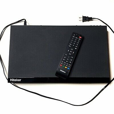 Hiteker TLBD -02 Blu-Ray Disc Player With Working Remote In Excellent Condition