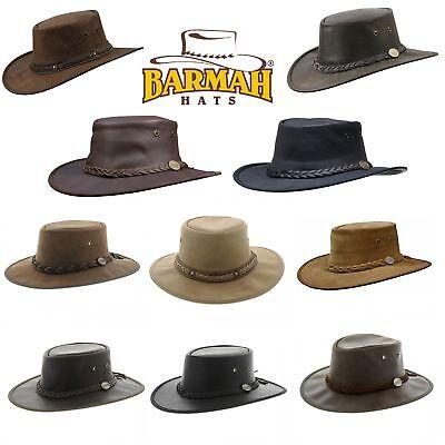 Hut Australien (Barmah Hat Regenhut Rain Outback Australien Western-Hut Leder-Hut Cowboy-Hut)