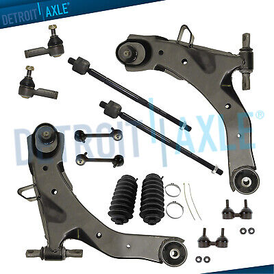 2001 Hyundai Elantra Control - New 12-Pc Front and Rear Suspension Kit for Hyundai Elantra 2001-2006