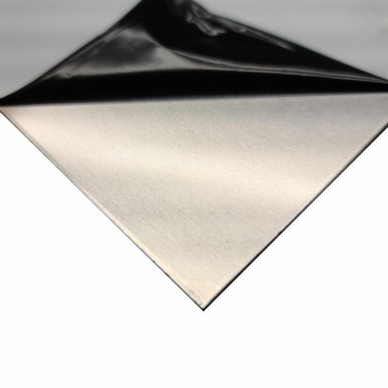 "5052-H32 Aluminum Sheet, 0.090"" x 24"" x 48"" (Protective PVC)"