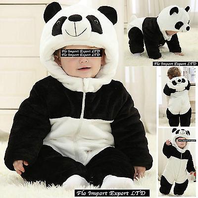 - Panda Strampelanzug Kostüm