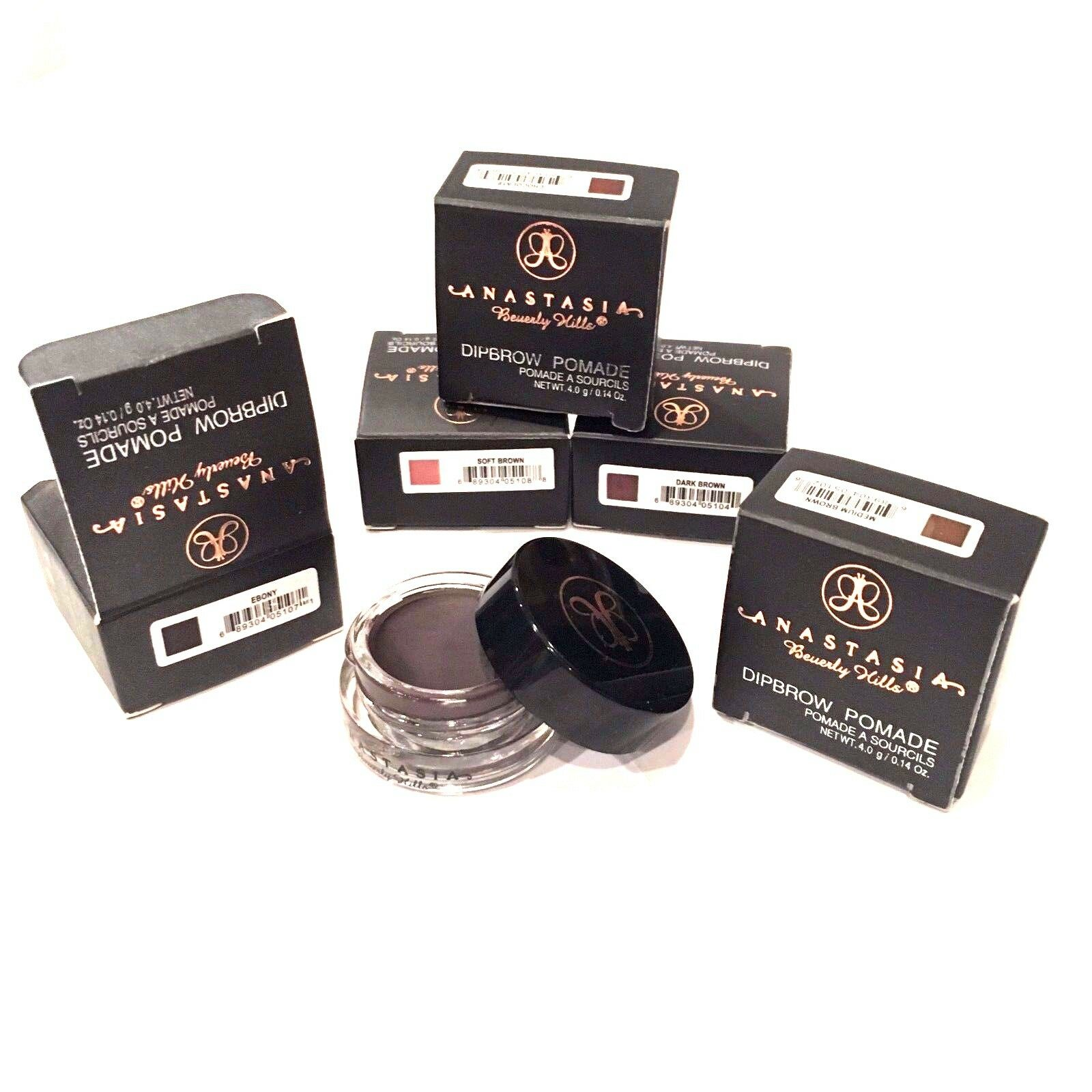 Anastasia Beverly Hills Dipbrow Pomade Eyebrows In Health Kleancolor Brow Ebony Chocolate Tweezers New