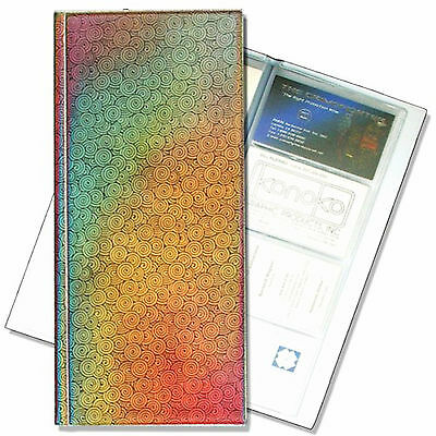 Business Card Book File  Rainbow Lenticular Color-Changing #R-029-BF128#