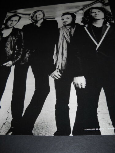 THE KILLERS sensational Black and White 2006 Photo Image PROMO POSTER AD mint