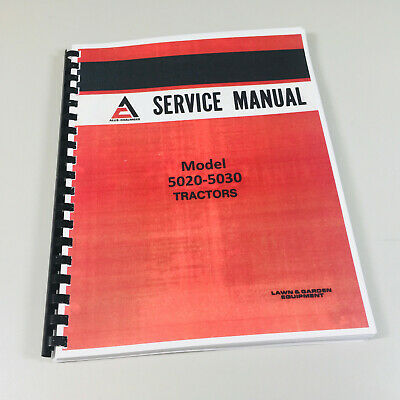 Allis Chalmers 5020 5030 Tractor Service Repair Technical Shop Manual Overhaul