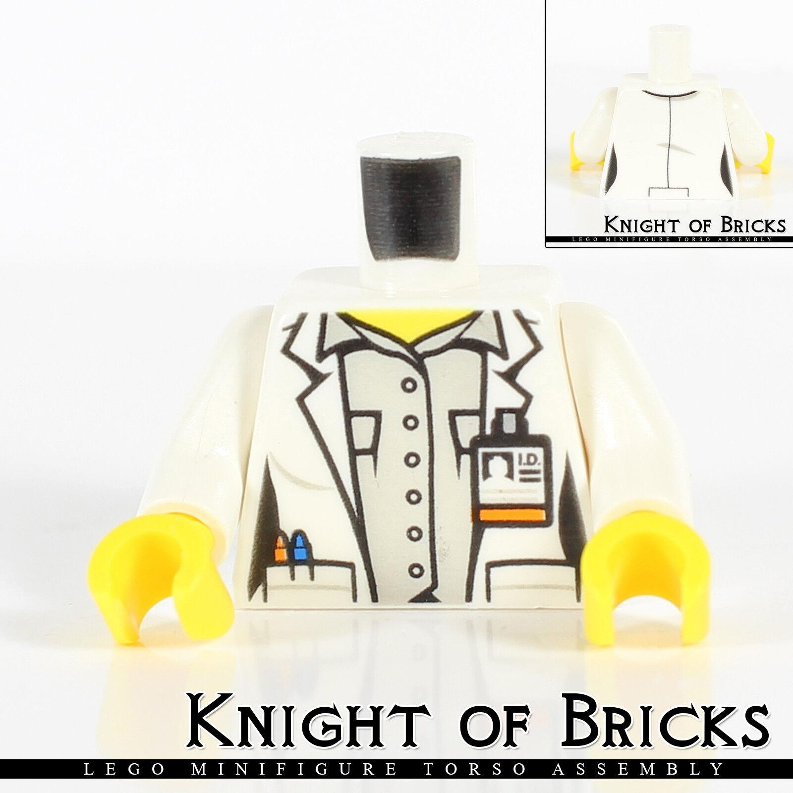 LEGO Minifigure Torso 396 WHITE Female Corset Ribbon Bride City Town Wedding