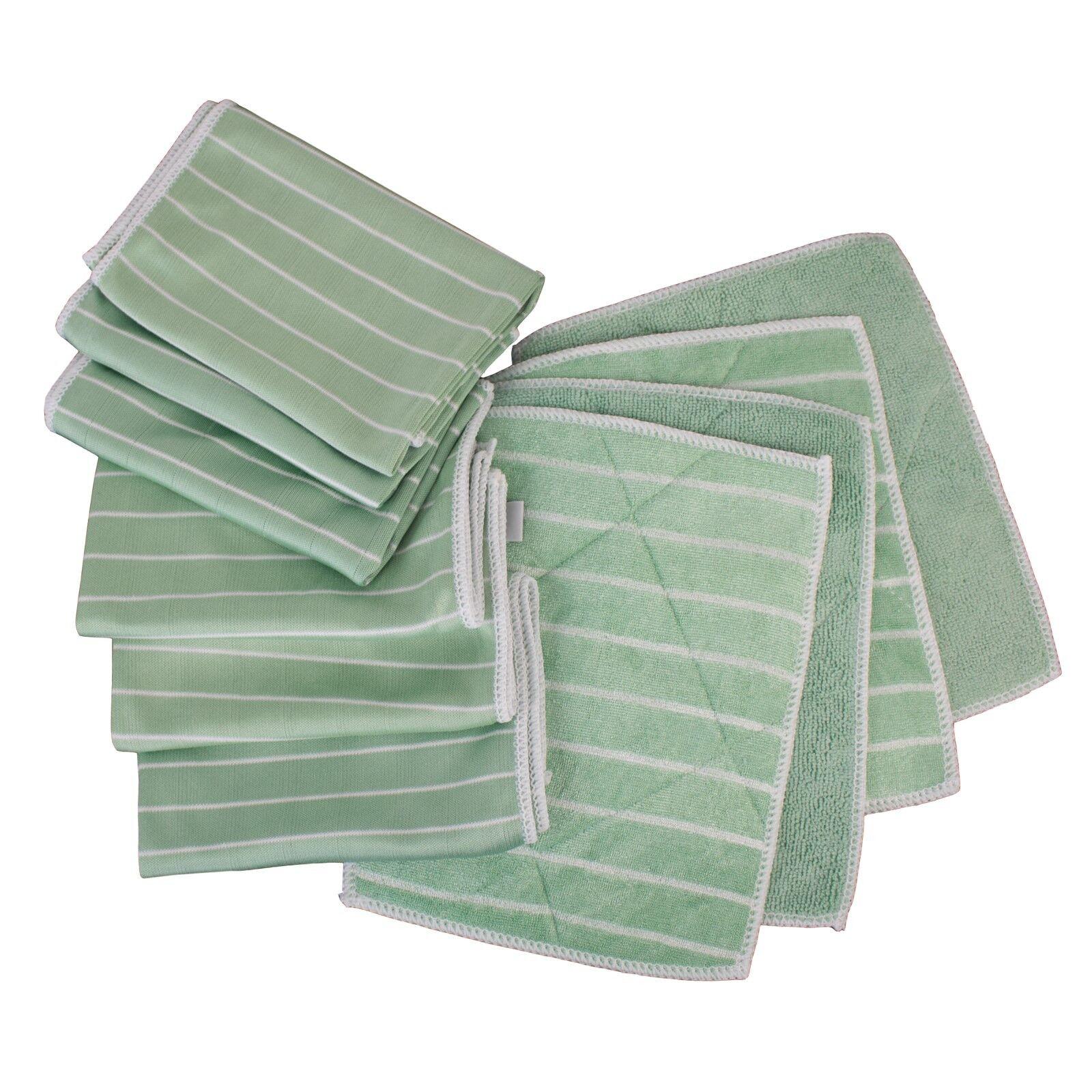 Bambus Reinigungstücher Alpha S4 10 tlg. Set das Grüne Wunder der Putzlappen