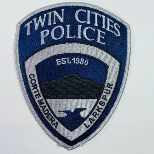 Corte Madera Larkspur Twin Cities Police Marin County California CA Patch (A1)