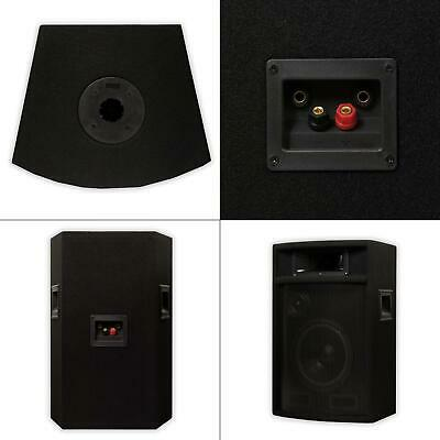 Passive 8 In. Dj Pa Karaoke 3-way Studio Speakers Audio Pro Pair Acoustic - $108.99